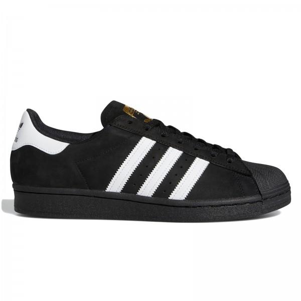 adidas Skateboarding Superstar ADV (Core Black/Cloud White/Gold Metallic)