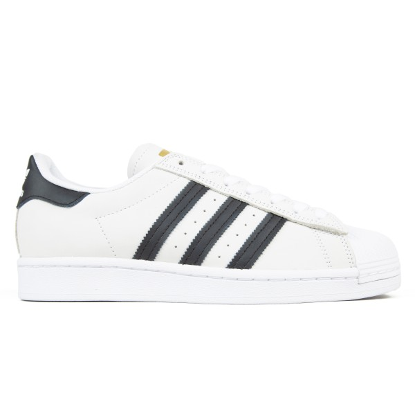 adidas Skateboarding Superstar ADV (Footwear White/Core Black/Gold Metallic)