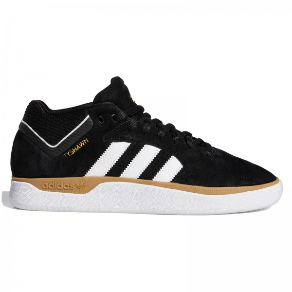 adidas Skateboarding Tyshawn (Core Black/Cloud White/Gum)