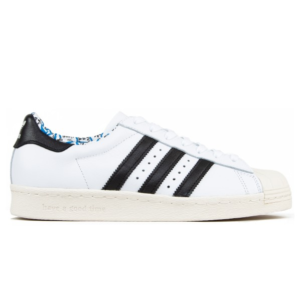 adidas Originals x have a good time Superstar 80s (Footwear White/Core Black/Chalk White)