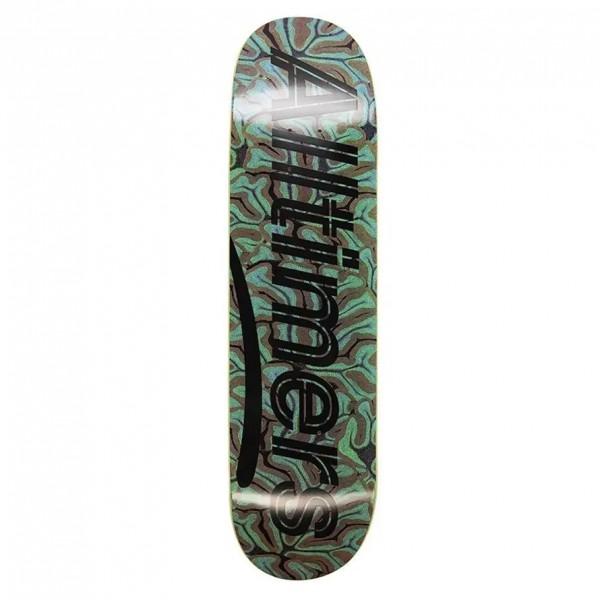 "Alltimers Brain Estate Skateboard Deck 8.25"""