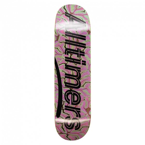 "Alltimers Brain Estate Skateboard Deck 8.3"""