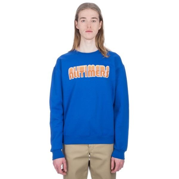 Alltimers Drop Crew Neck Sweatshirt (Royal)