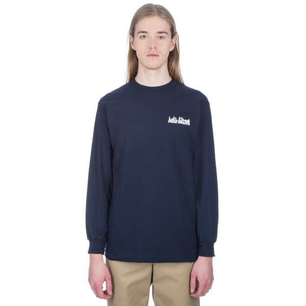 Alltimers Late Long Sleeve T-Shirt (Navy)
