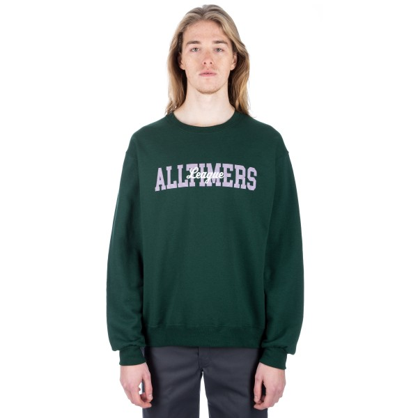 Alltimers League Crew Neck Sweatshirt (Green)