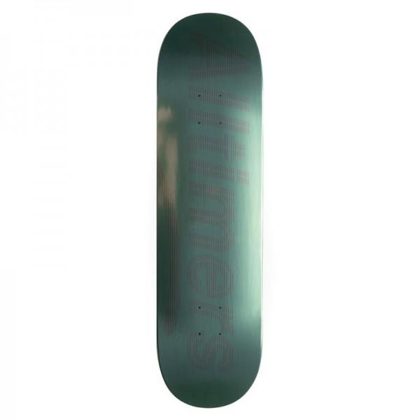 """Alltimers Tonal Foil Skateboard Deck 8.5"""" (Green)"""