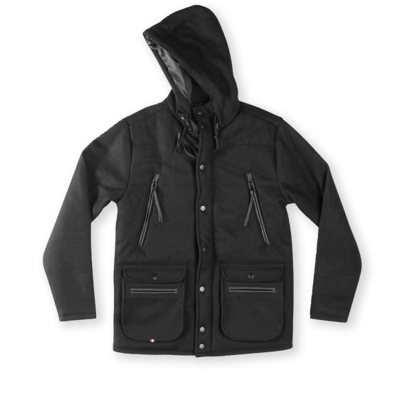 Altamont Baltic Puffy Jacket (Black)