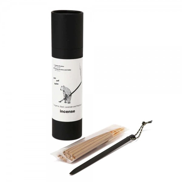 and wander Incense + Holder (Grey)