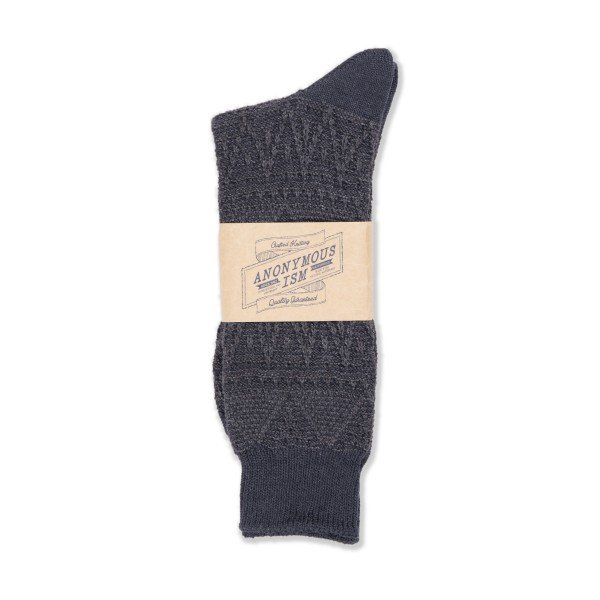 Anonymous Ism Mountain Range Sock (Grey)