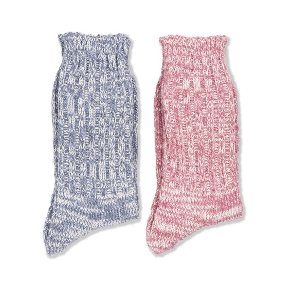 Anonymous Ism Remining Socks 2 Pack (Blue/Pink)