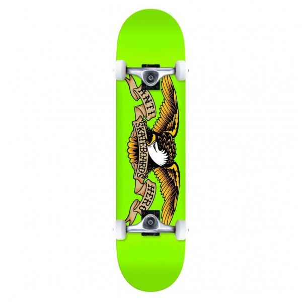 "Anti Hero Classic Eagle LG Complete Skateboard 8.0"" (Green)"