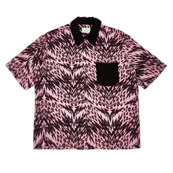 Aries Animal Hawaiian Shirt (Pink)