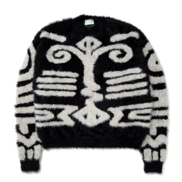 Aries Bodypaint Knit Jumper (Black/Beige)
