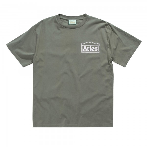 Aries Classic Temple T-Shirt (Khaki)