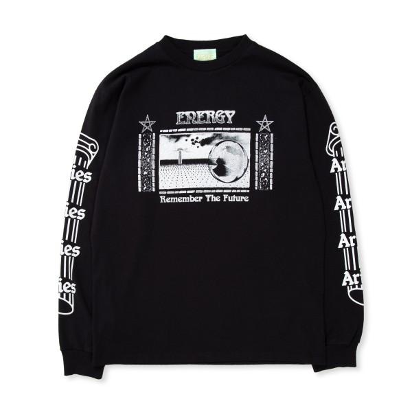 Aries Energy Long Sleeve T-Shirt (Black)