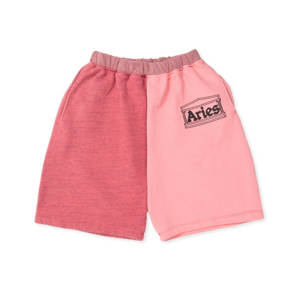 Aries OD Colourblock Sweatshorts (Pink)