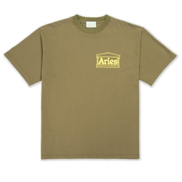 Aries Temple T-Shirt (Olive)