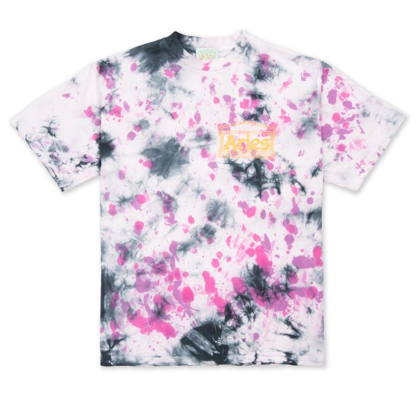 Aries Temple Tie Dye T-Shirt (Purple)