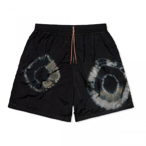 Aries Tie-Dye Windcheater Shorts (Black)