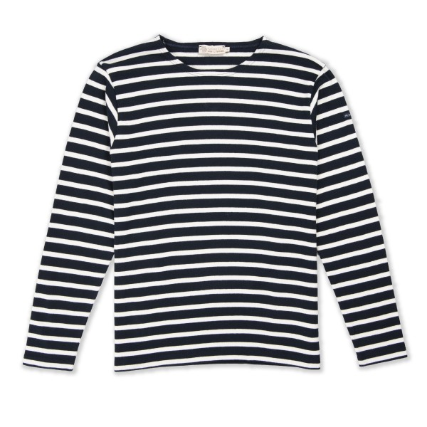 Armor-Lux Marinere Aviron Long Sleeve T-Shirt (Rich Navy/Nature)
