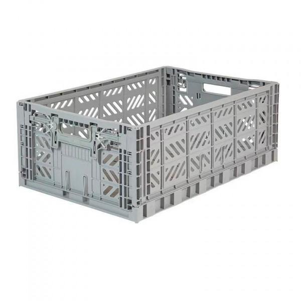 Aykasa Maxi Foldable Crate (Grey)