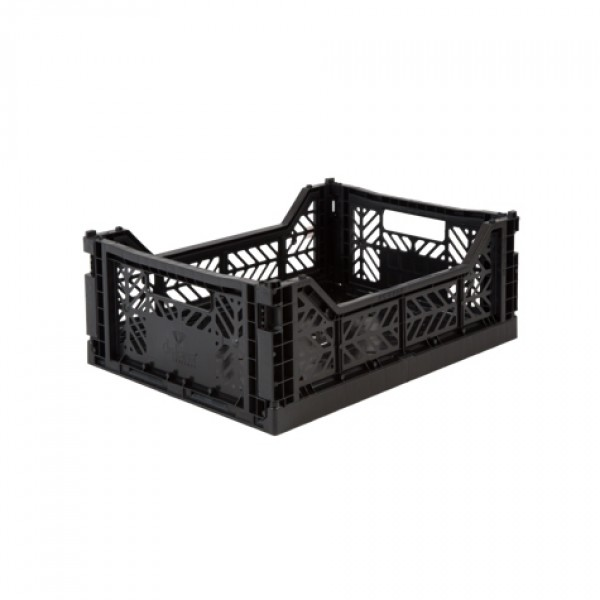 Aykasa Midi Foldable Crate (Black)
