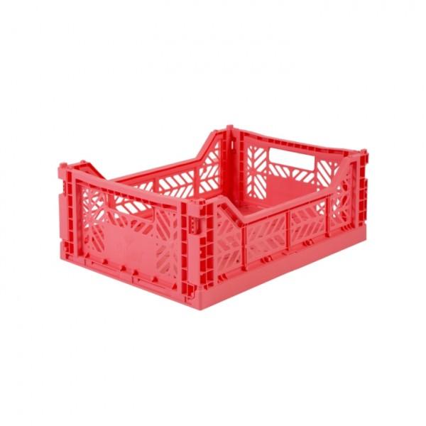 Aykasa Midi Foldable Crate (Dark Pink)