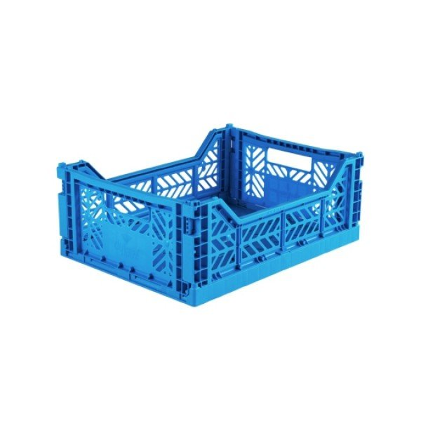 Aykasa Midi Foldable Crate (Electric Blue)