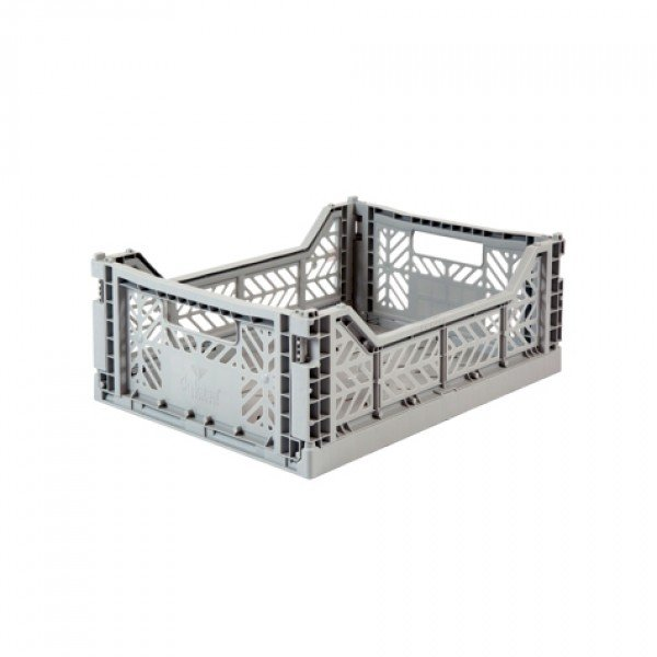 Aykasa Midi Foldable Crate (Grey)