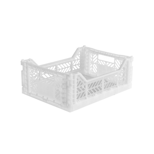 Aykasa Midi Foldable Crate (White)