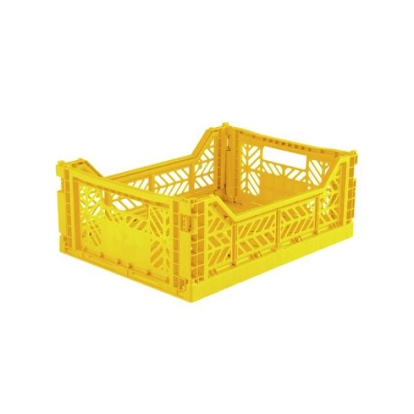 Aykasa Midi Foldable Crate (Yellow)