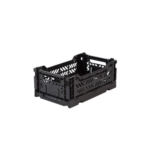Aykasa Mini Foldable Crate (Black)