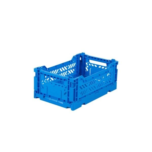 Aykasa Mini Foldable Crate (Electric Blue)