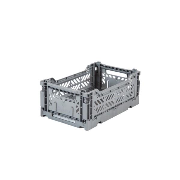 Aykasa Mini Foldable Crate (Grey)