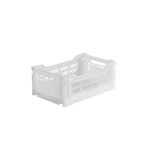 Aykasa Mini Foldable Crate (White)