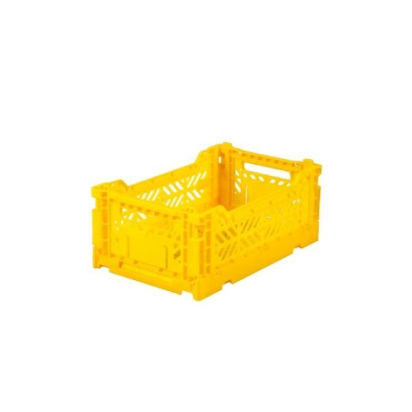 Aykasa Mini Foldable Crate (Yellow)