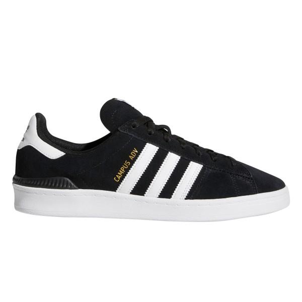 adidas Skateboarding Campus ADV (Core Black/Footwear White/Footwear White)