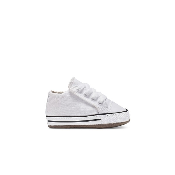 Baby Converse Chuck Taylor All Star Cribster Mid (White/Natural Ivory/White)