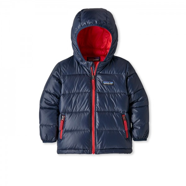 Baby Patagonia Hi-Loft Down Sweater Hoody Jacket (New Navy)
