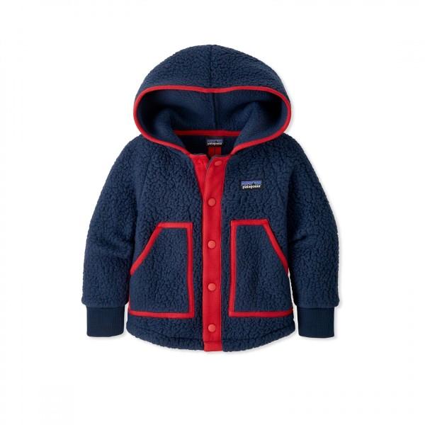 Baby Patagonia Retro Pile Fleece Jacket (New Navy)
