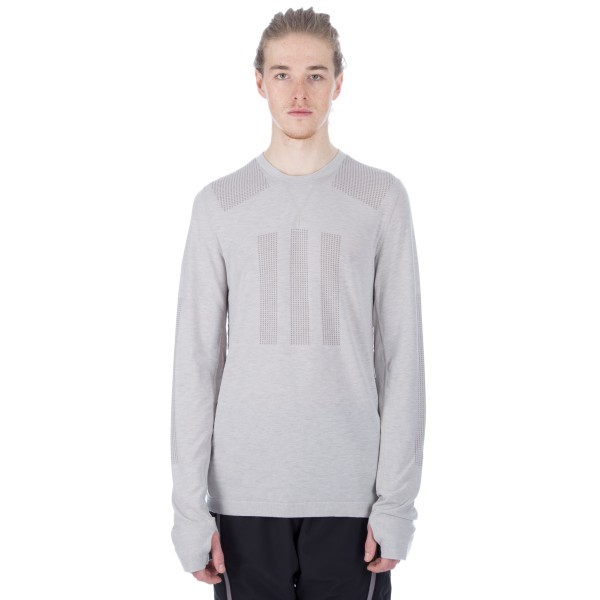 adidas Day One Base Layer Long Sleeve T-Shirt (Clear Granite)