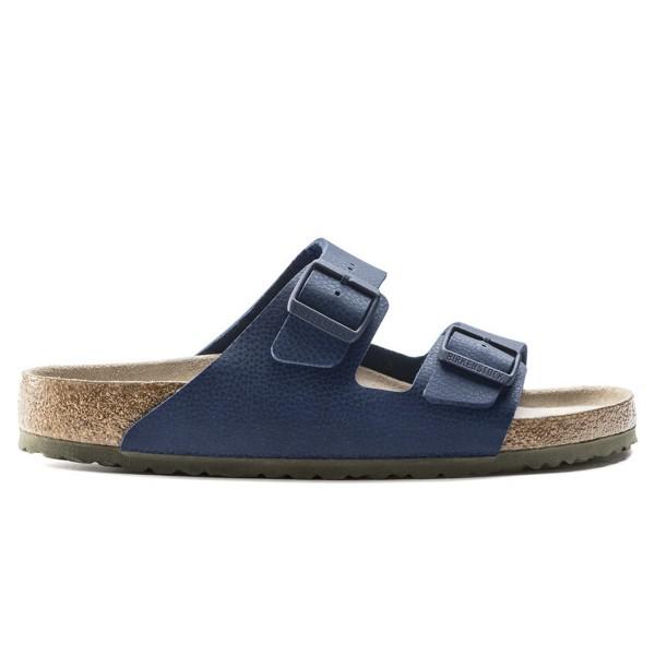 Birkenstock Arizona Soft Footbed Birko-Flor Regular Fit (Desert Soil Blue)
