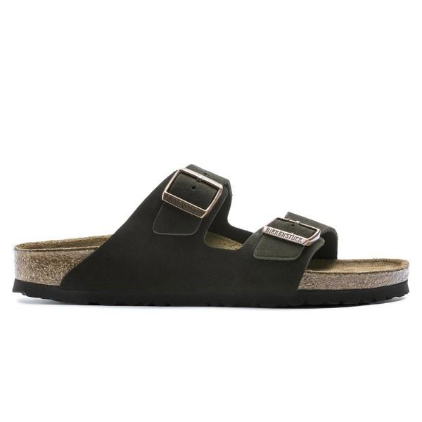 Birkenstock Arizona Soft Footbed Suede Leather Regular Fit (Mocha)