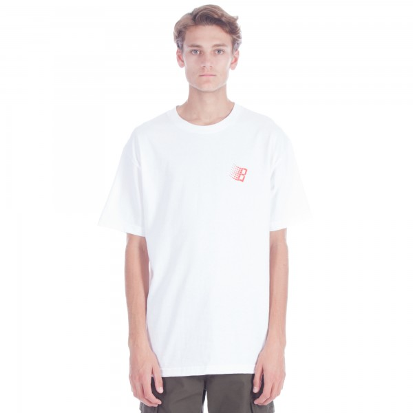 Bronze 56k B Logo T-Shirt (White/Primary)