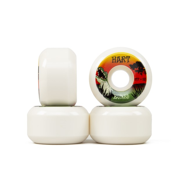 Bones STF Skateboard Wheels 53mm V5 (Hart Gator Bait)