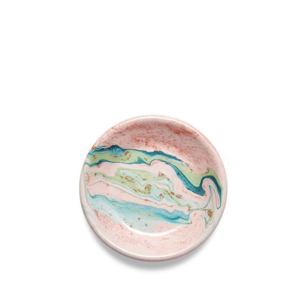 BORNN Marble Sauce Plate 12cm (Blush)