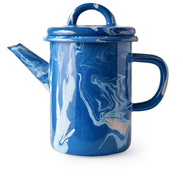 BORNN Marble Tea Pot (Cobalt)