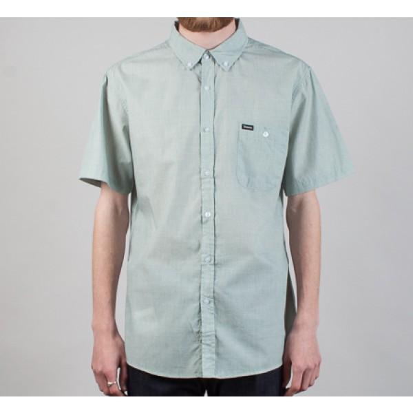 Brixton Central Short Sleeve Shirt (Mint)