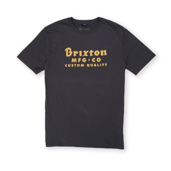 Brixton Sadler Premium T-Shirt (Washed Black)