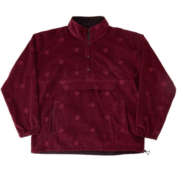 Bronze 56K All Over Embroidered Anorak (Maroon)
